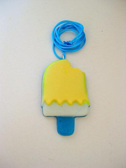 Ice Cream Stick Resin Pendant