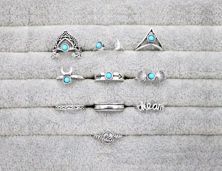 Tora Ring Set