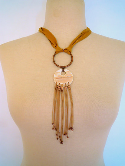 Indian Love Long Necklace