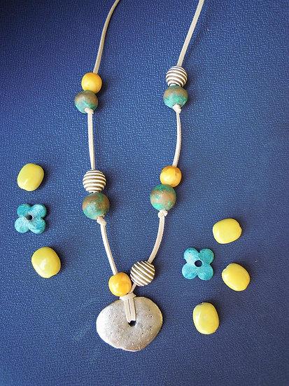 Ethnic Ceramic Necklace
