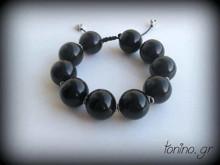 Black Pearls Bracelet