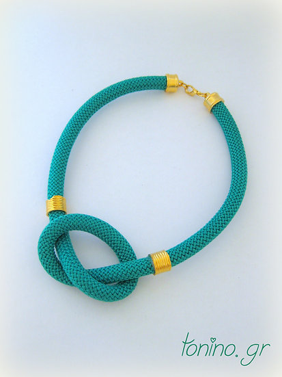 Emerald Knot Statement Necklace