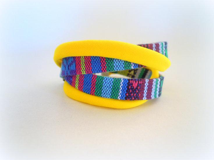 Yellow Boho Bracelet
