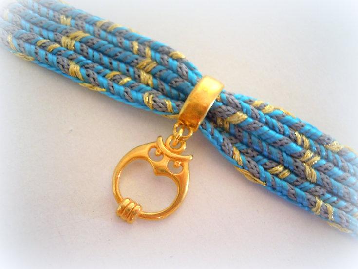 Owl Ribbon Bracelet