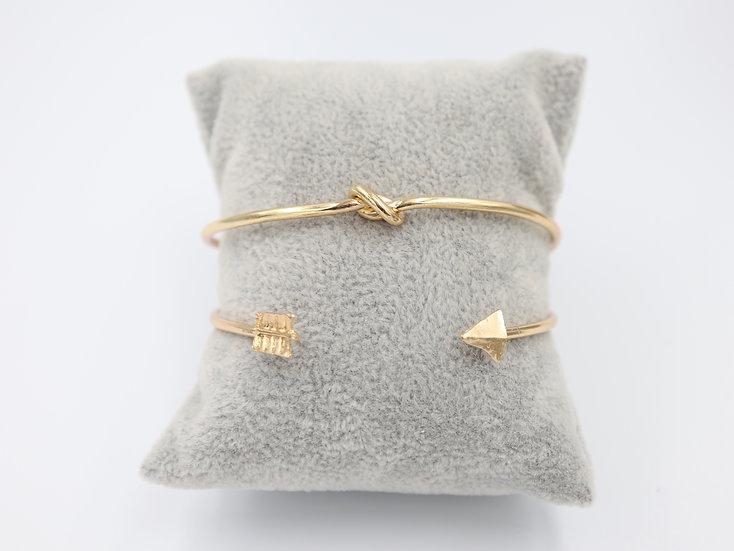 Knot / Bow Bracelet Set
