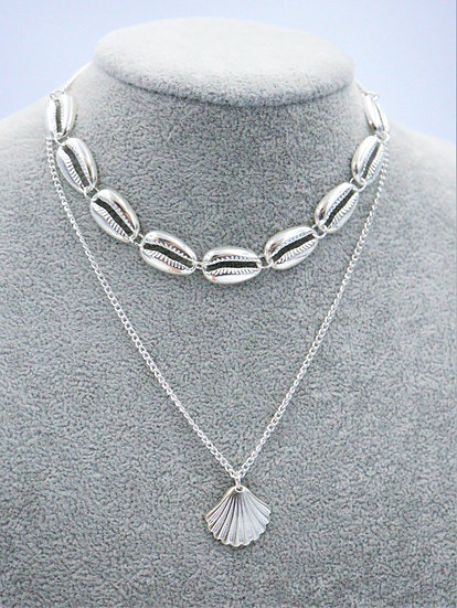 Silver Nerissa Necklace