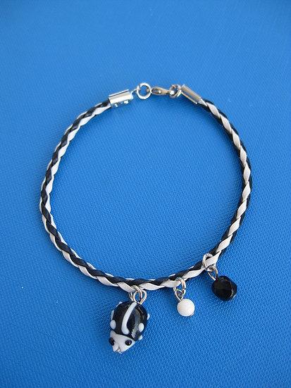 Black Ladybug Bracelet
