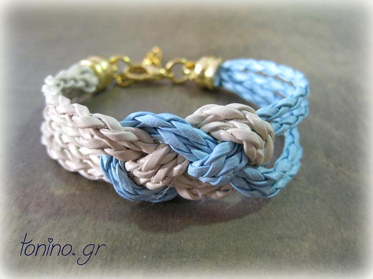 Navy Knot Bracelet