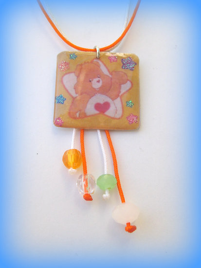 Care Bears -'Tenderheart' Resin Pendant