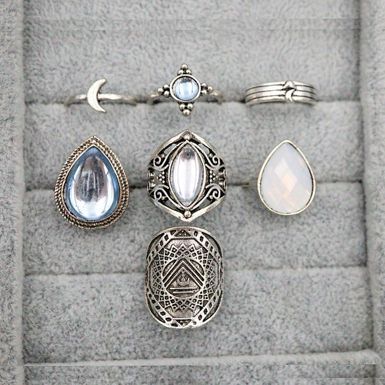 Aqua Ring Set