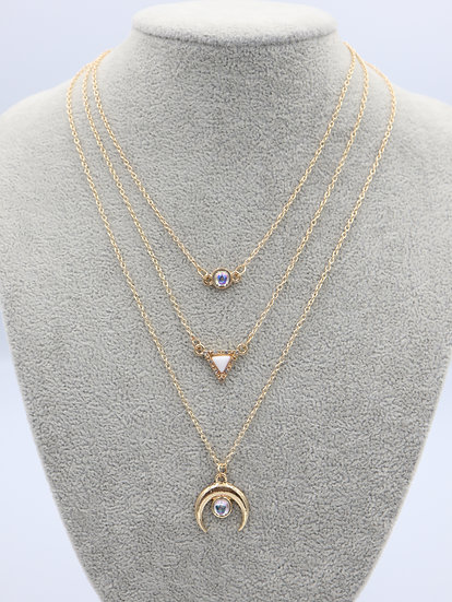 Little Eye Necklace Set