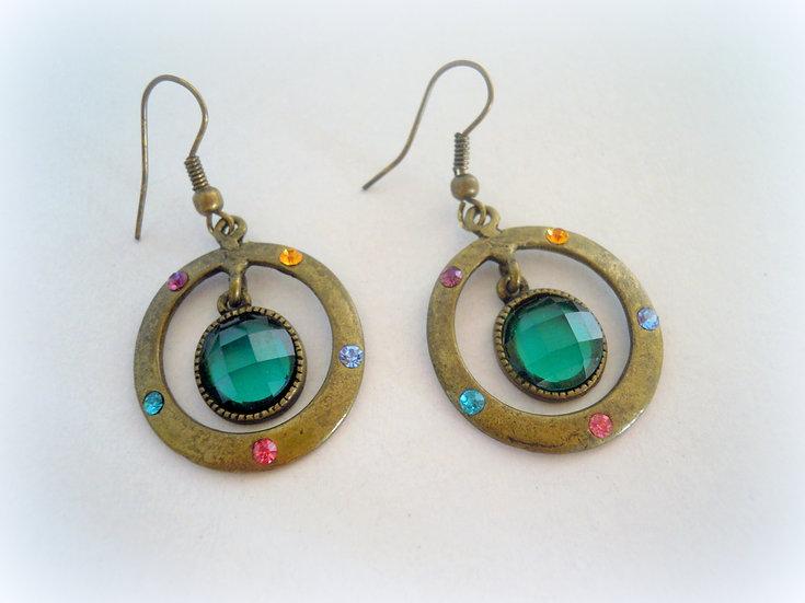 Sparkling Vintage Earrings