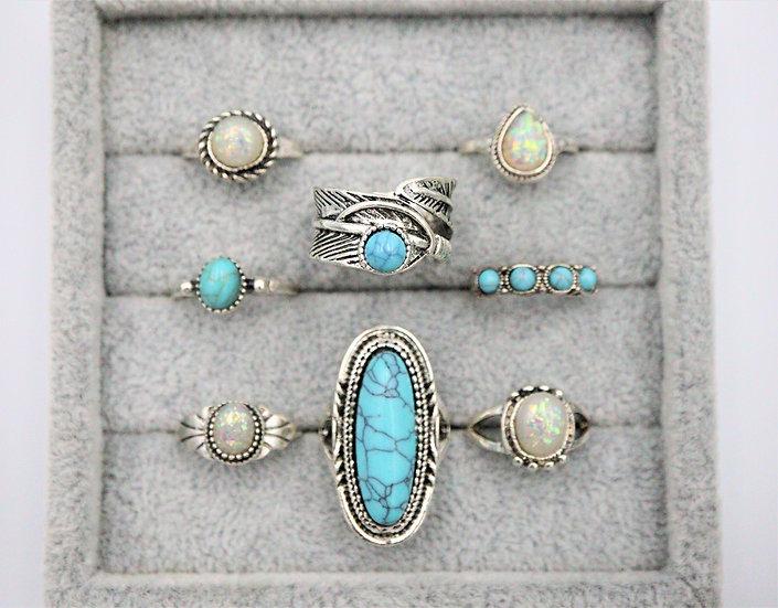 Haewon Ring Set
