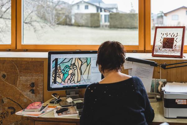 Atelier vitrail - vétroz