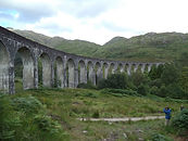 Harry Potter locations, steam train trips