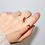 Thumbnail: Kiss Pearl Adjustable Ring