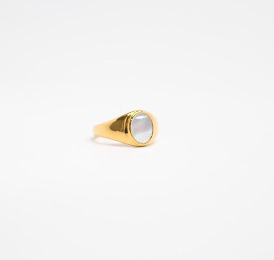 Shell Signet Ring