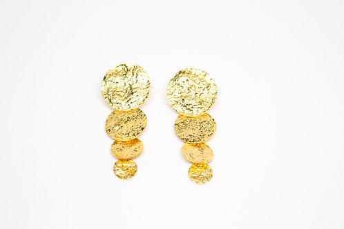 Disco Gold Earrings
