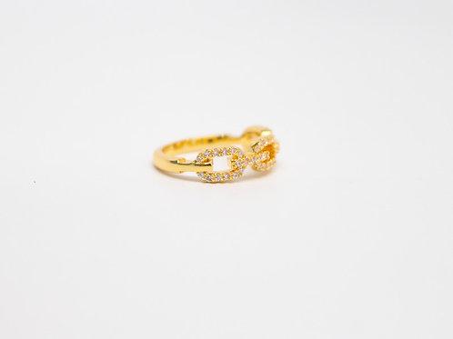 Link Shimmer Ring