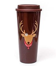 Covet Holiday Reindeer (Plastic Tumbler)