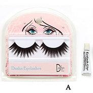 Dasha Designs 2480 Full Eyelashes w/Glue