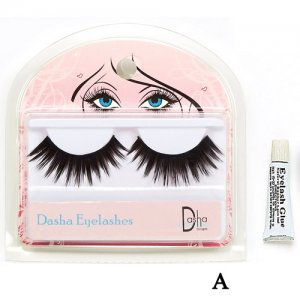 Dasha Designs 2480 Full Eyelashes w/Glue