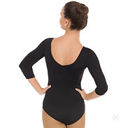 Eurotard 4408 Womens 3/4 Sleeve Leotard