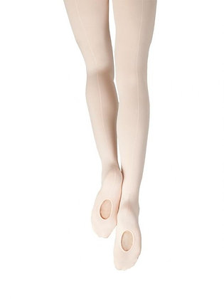 Capezio 18 Seamed Mesh Tight