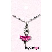 tyvm 79510 Ballerina w/Crystal Necklaces