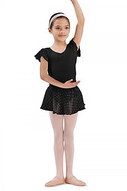 Bloch CR5161 Pull-On Georgette Skirt