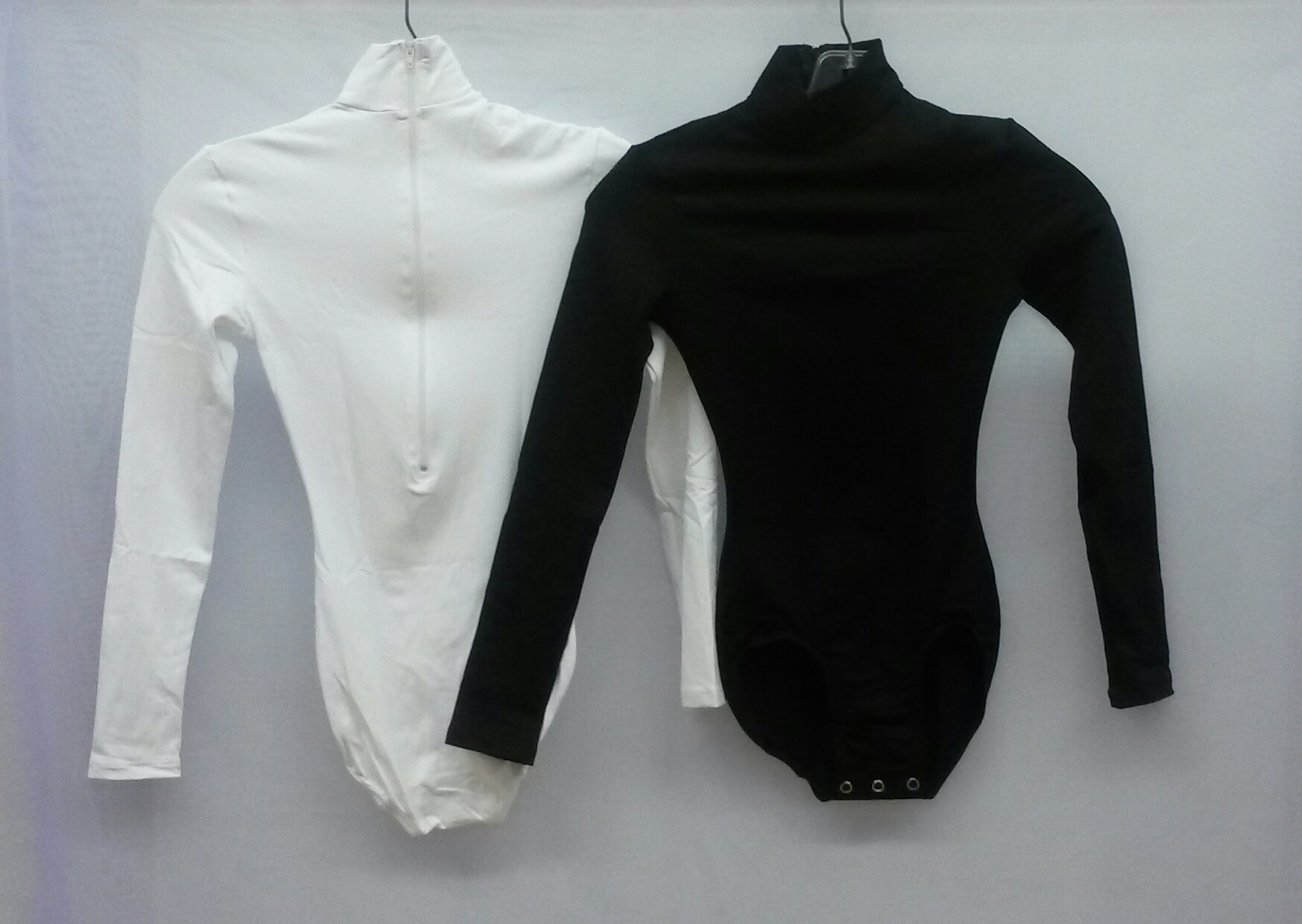 Mock Neck L/S Leotard