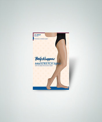 Body Wrappers A55X Women's Shimmer Footed Tight