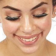 Dasha Designs 2482 Rhinestone Band Eyelashes w/Glue