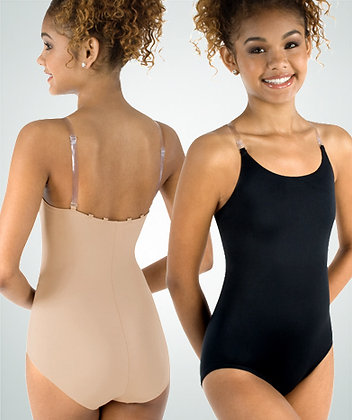 Body Wrappers 0266 Under Wraps Microfiber Leotard