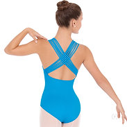 Eurotard 4493 Womens Lattice Back Leotard