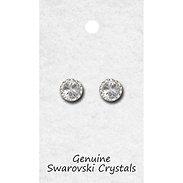 tyvm 98011 11mm Center Stone Earrings