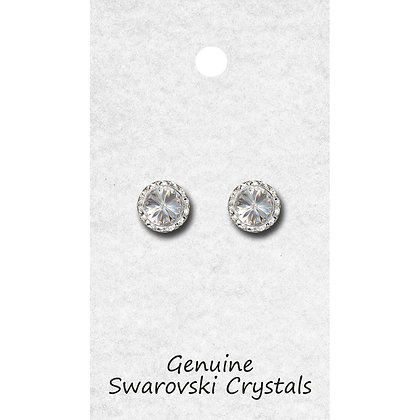 tyvm 98011 11mm Center Stone Earrings