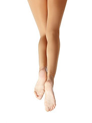 Capezio 1817C Ultra Soft Footless Tights