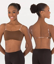Body Wrappers 274 Padded Bust Convertible Halter/Camisole Bra