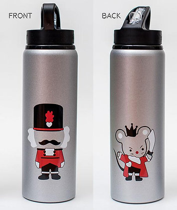 Covet Nutcracker and Mouse King Water Bottle