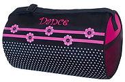 Sassi Designs FDT-02 Flower Dot Small Dance Duffel