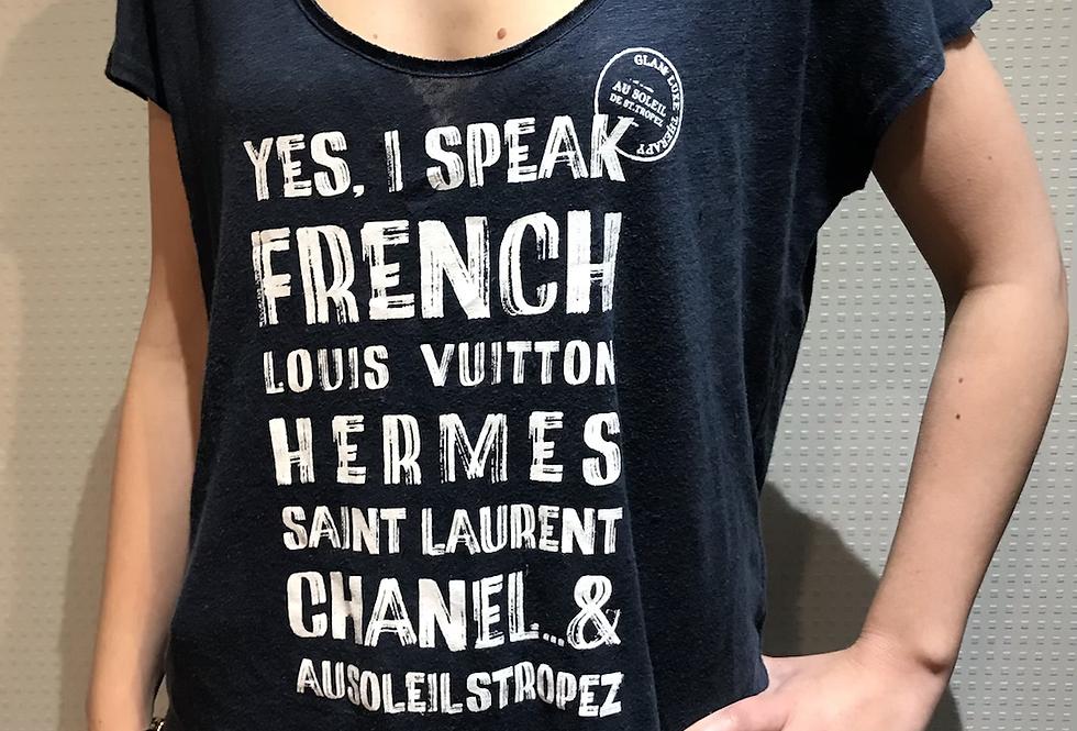 T shirt AU SOLEIL DE ST TROPEZ