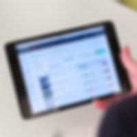 EnerOnline iPad photo buildings list