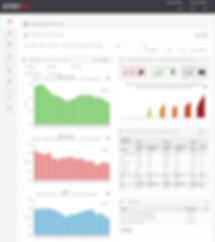 EnerOnline enrgy monitoring rolling 12 month all buildings Kulutuskehityksen seuranta, rullaava vuosi, seurannassa mukana 32 kiinteistöä