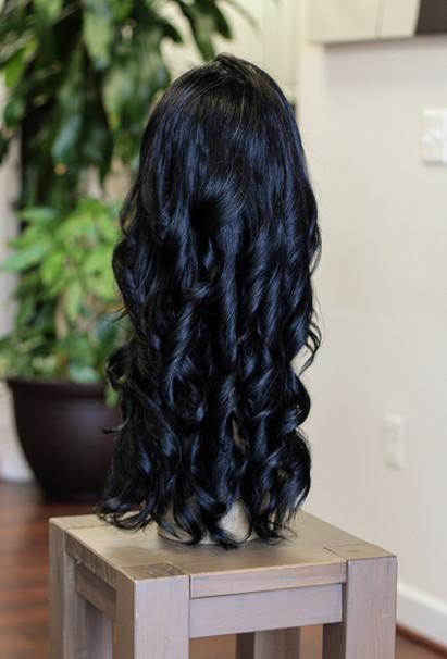 Lace Front Wavy Human Hair B