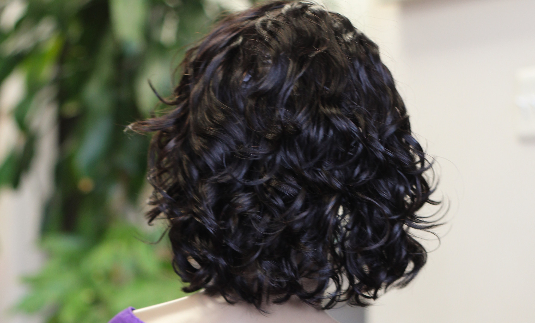 Lace Front Curly Human Hair E