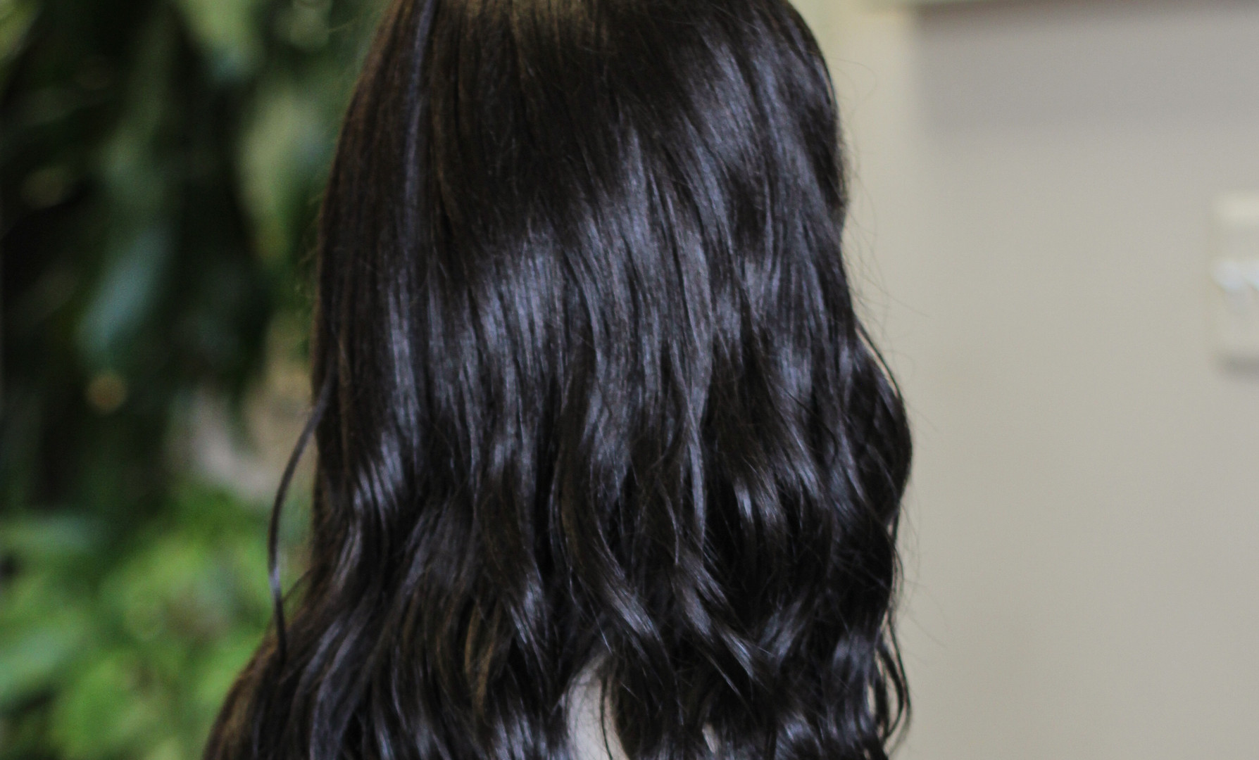 Lace Front Curly Synthetic Hair Q