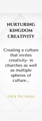 NURTURING KINGDOM CREATIVITY  Creating a culture that invites creativity- in churches as well as multiple spheres of culture.   With Geoffrey Winkler and Bonnie Chavda