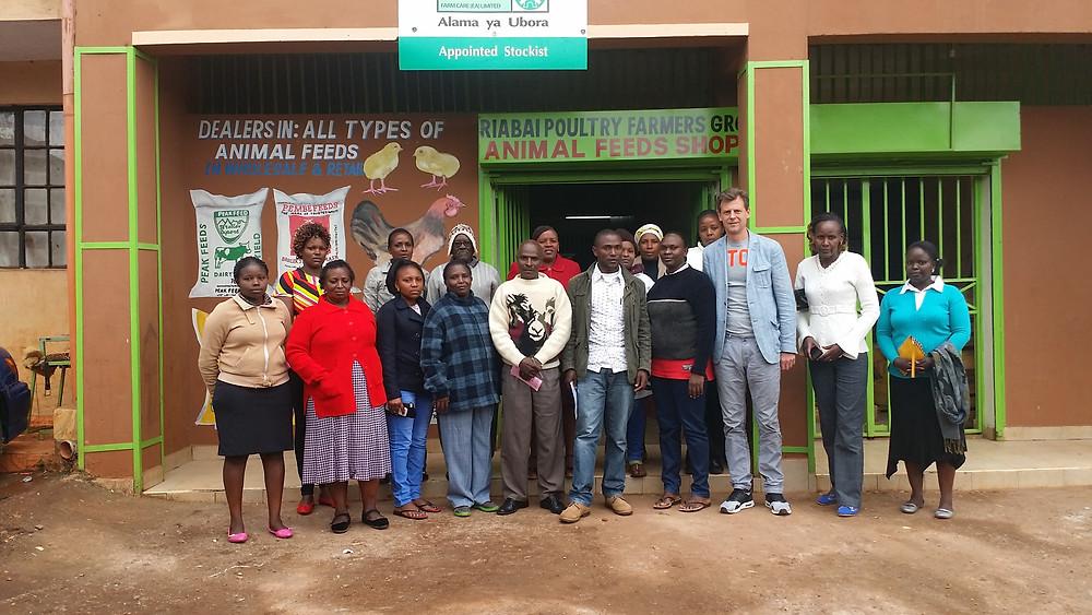 Members of the Kiambu Coop