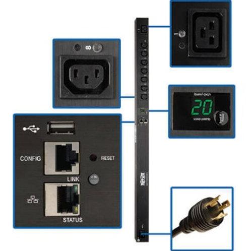 Tripp Lite 3.7kW Single-Phase Switched 0U PDU PDUMV20HVNET2LX